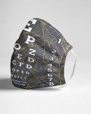 eye chart close pattern 3l Cloth Face Mask - 3 Pack aos-face-mask-lifestyle-21