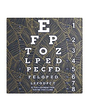 eye chart close pattern 3l Square Coaster tile