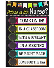 where-school-nurse 11x17 Poster front