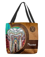 Lthr tote dentist dvhd-nna All-over Tote front