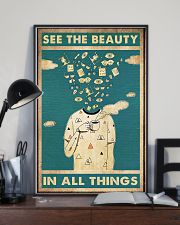optometrist see beauty 24x36 Poster lifestyle-poster-2