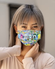 plate mask optician Cloth Face Mask - 3 Pack aos-face-mask-lifestyle-18