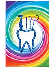 dentist swirl color 11x17 Poster front