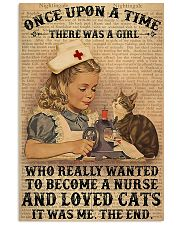 nurse once upon 11x17 Poster front