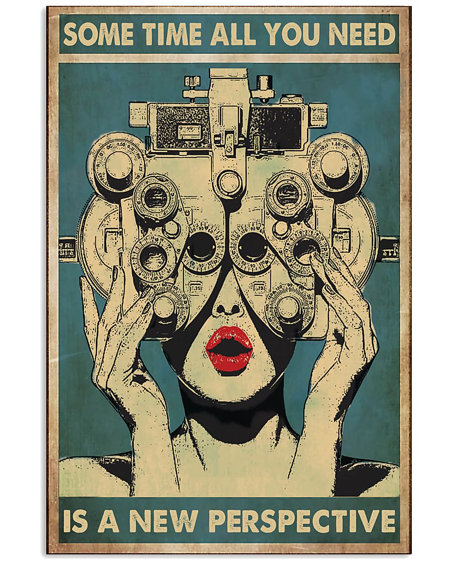 new perspective optometrist 24x36 Poster