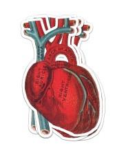 Sticker Heart Sticker - 4 pack (Vertical) front