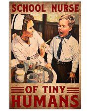 school nurse tiny 11x17 Poster front