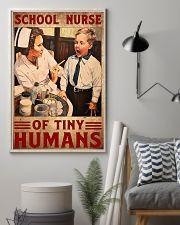 school nurse tiny 11x17 Poster lifestyle-poster-1