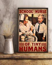 school nurse tiny 11x17 Poster lifestyle-poster-3