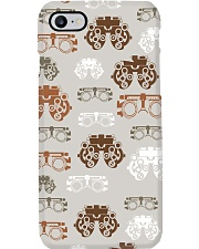 optometrist pattern Phone Case tile