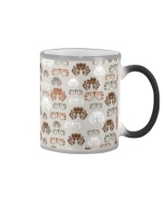 optometrist pattern Color Changing Mug tile