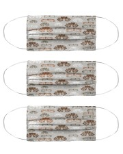 optometrist pattern Cloth Face Mask - 3 Pack front
