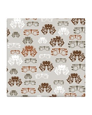 optometrist pattern Square Coaster tile