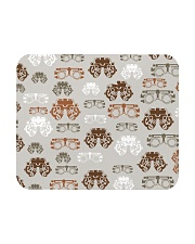 optometrist pattern Mousepad tile