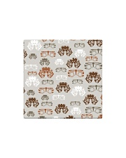 optometrist pattern Square Magnet tile