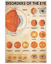 eye disorder 24x36 Poster front