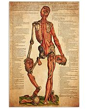 antique anatomy 11x17 Poster front