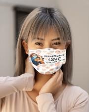 squad mask dermatologist Cloth Face Mask - 3 Pack aos-face-mask-lifestyle-18