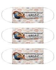 squad mask dermatologist Cloth Face Mask - 3 Pack front