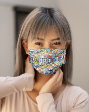 plate mask registered nurse Cloth Face Mask - 3 Pack aos-face-mask-lifestyle-18