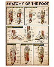 foot-anatomy 24x36 Poster front