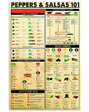 Chef Peppers Salsas 24x36 Poster front
