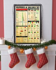 Chef Peppers Salsas 24x36 Poster lifestyle-holiday-poster-4