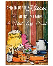 baking find my soul tool poster 11x17 Poster front