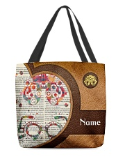 Lthr tote optometrist glass dvhd-nna All-over Tote front