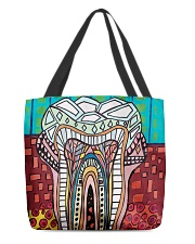 Tote Teeth Abstract All-over Tote front