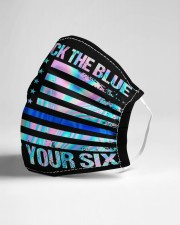 Nurse Back The Blue Got Your 6 Cloth Face Mask - 3 Pack aos-face-mask-lifestyle-21