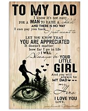 optometrist-to-my-dad 11x17 Poster front