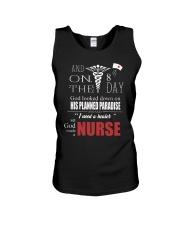 God Made Nurses Unisex Tank thumbnail