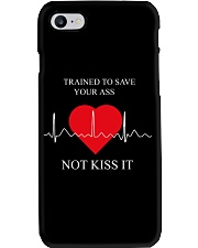 Trained To Save Your Ass Not Kiss It Phone Case thumbnail