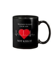 Trained To Save Your Ass Not Kiss It Mug thumbnail