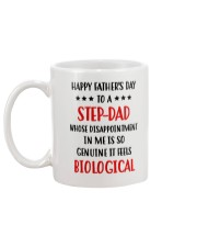 Step Dad Disappointment Mug back