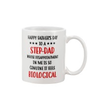 Step Dad Disappointment Mug front