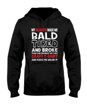 Made Me Bald Tired Broke Hooded Sweatshirt thumbnail