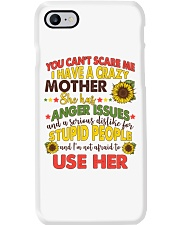 You Can't Scare Me Phone Case thumbnail