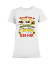 You Can't Scare Me Premium Fit Ladies Tee thumbnail