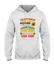 You Can't Scare Me Hooded Sweatshirt thumbnail