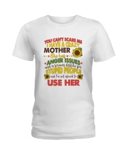 You Can't Scare Me Ladies T-Shirt thumbnail