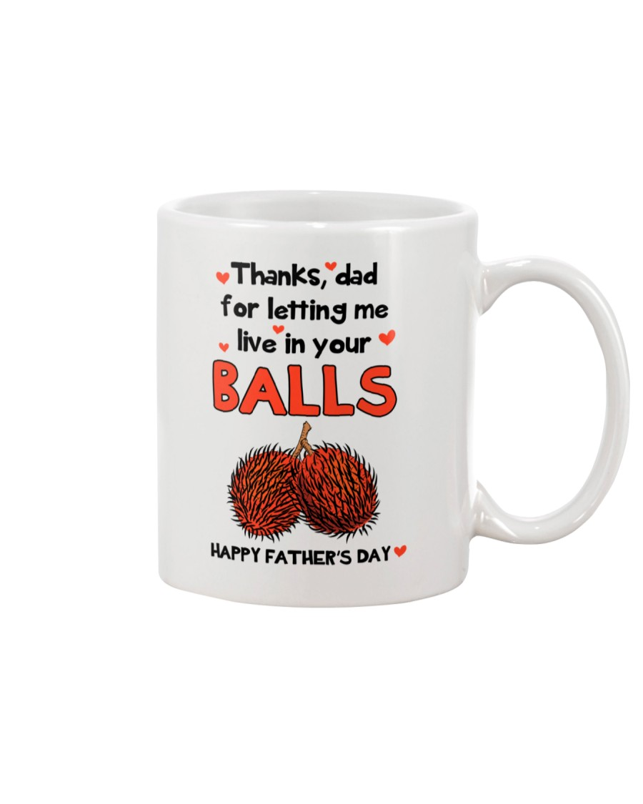 Let Me Live In Your Balls Mug