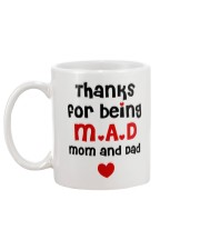 Thanks For Being M-A-D Mug back