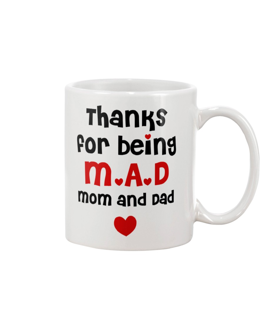 Thanks For Being M-A-D Mug