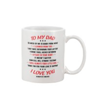 Place In Dad's Heart Mug front