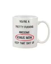 Awesome Bonus Mom Mug front