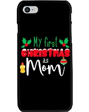 First Christmas as Mom Phone Case thumbnail