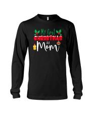 First Christmas as Mom Long Sleeve Tee thumbnail