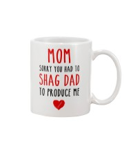 Shag Dad Produce Me  Mug tile
